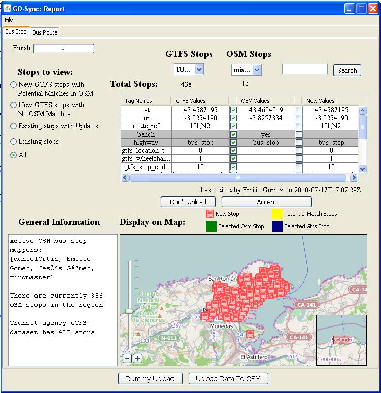 RISUM Project: Construyendo GTFS estáticos para el servicio de transporte público de Santander