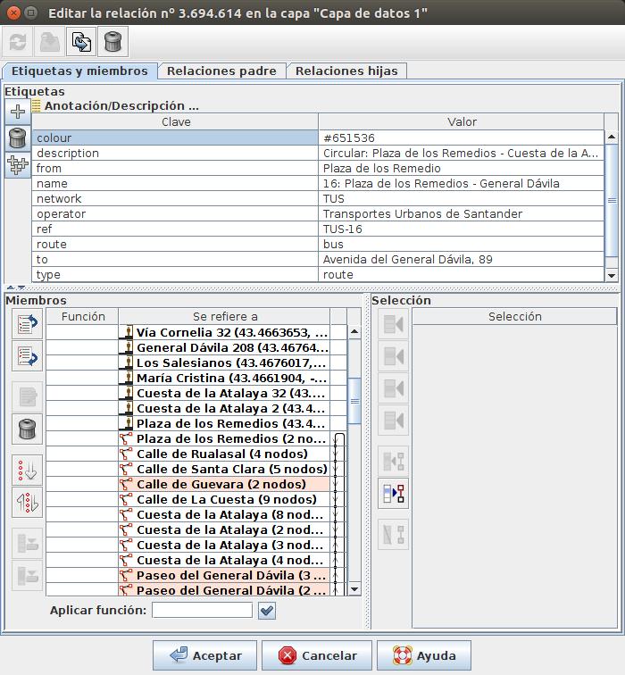 RISUM Project: Modelando rutas de autobuses para feeds GTFS
